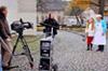 Johanna Dorst Filmaufnahmen Papa wird 70