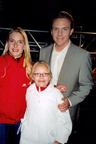 Johanna Dorst, Stefanie Hertel und Stefan Mross